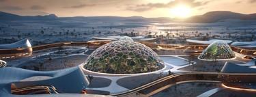 La ciudad futurista que busca prepararnos para vivir en Marte mientras nos ayuda a sobrevivir al cambio climático en nuestro planeta