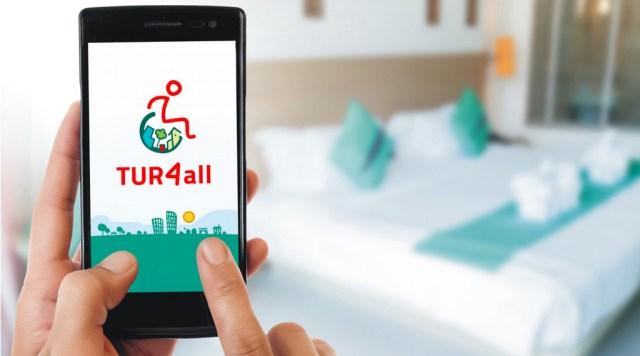 Así es TUR4all, la app que te permite explorar establecimientos y actividades turísticas accesibles