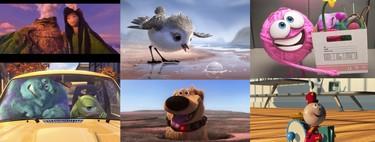 Pixar: todos los cortos en Disney+ ordenados de peor a mejor