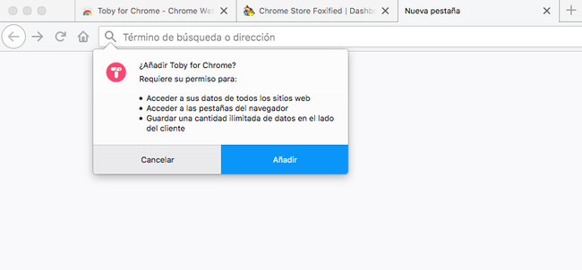 Aadir Extension De Chrome® A Firefox