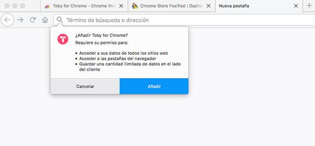 Aadir Extension De Chrome A Firefox