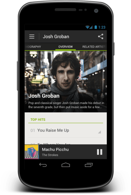 Spotify Android Artist Large On Device 1339450162