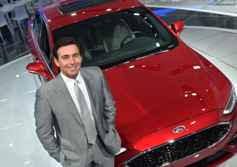 Mark Fields And 2017 Ford Fusion