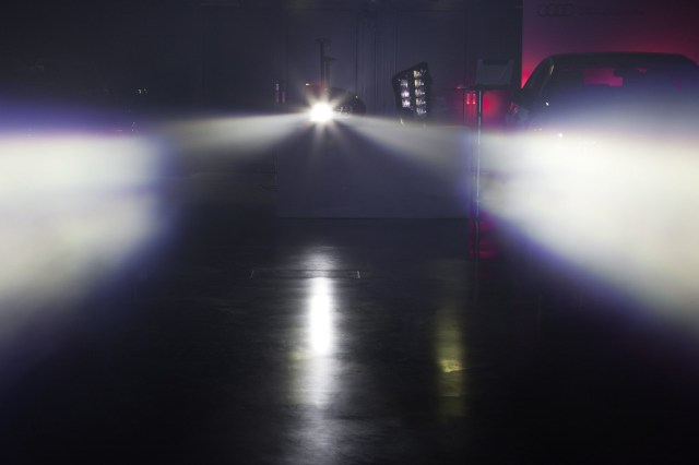 Audi Laser Matrix Technology
