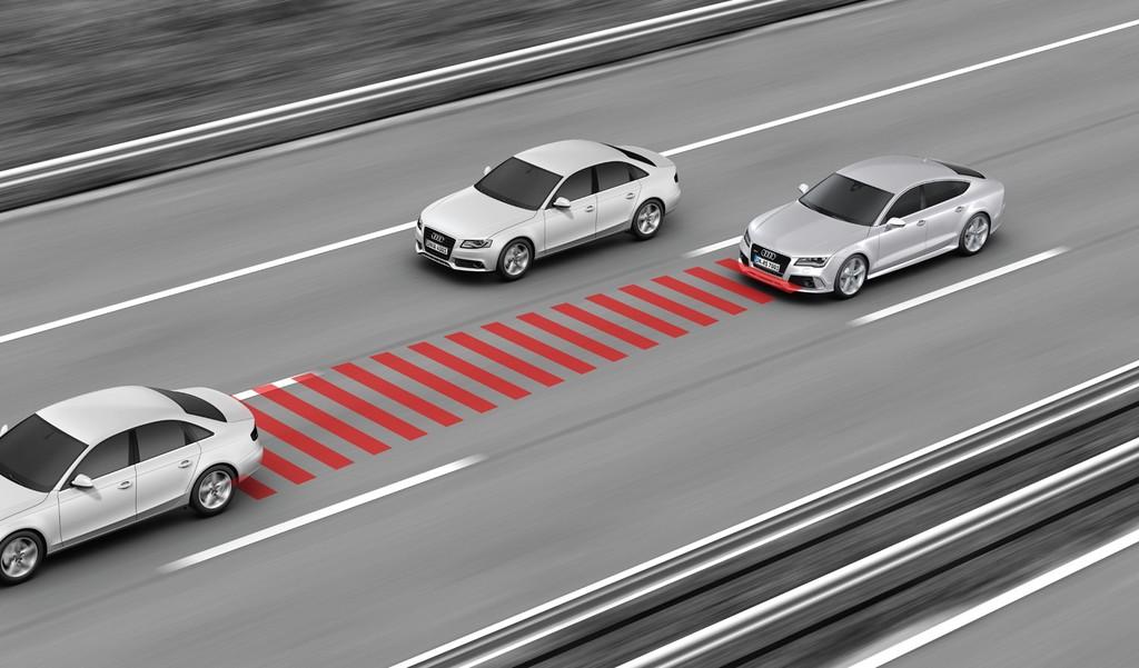 Audi Control De Velocidad De Crucero Adaptativo
