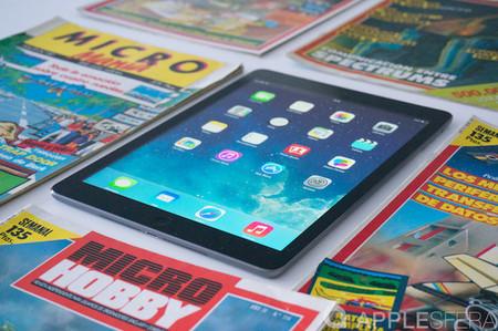 iPad Air actualiza a iOS 12