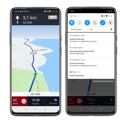 Samsung Galaxy Fold Here Maps Android