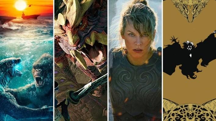 13 estrenos y lanzamientos imprescindibles para el fin de semana: 'Godzilla vs. Kong', 'Monster Hunter' en cines y mucho más