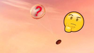 El paracaídas de Perseverance escondía un mensaje en clave que Internet se ha encargado de descubrir