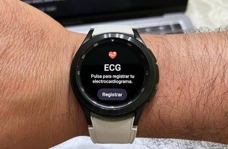Electrocardiograma Samsung℗ Galaxy℗ Watch 4