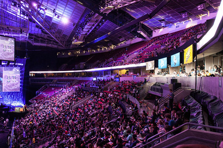Crowd At Ti4
