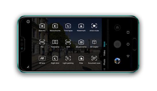 Honor 10 App Camara