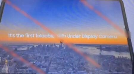 Samsung Galaxy Z Fold 3 Filtration Camera Under Screen