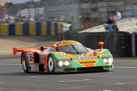 Mazda 787B en Le Mans