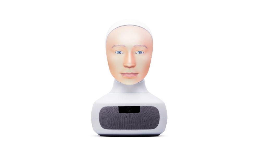 Esta cabeza robótica habla, escucha y conserva el contacto visual: así es Furhat, el robot-cabeza social