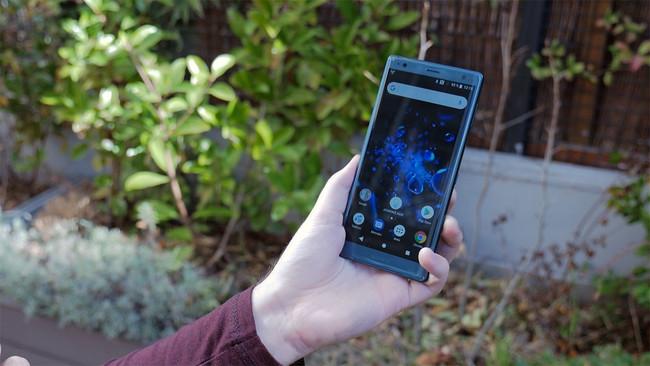 Sony Xperia Xz2 Frontal