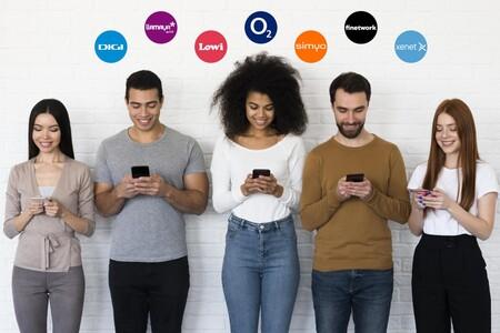 Operadores más baratos pertenecientes a Movistar, Vodafone, Orange℗ y MásMóvil