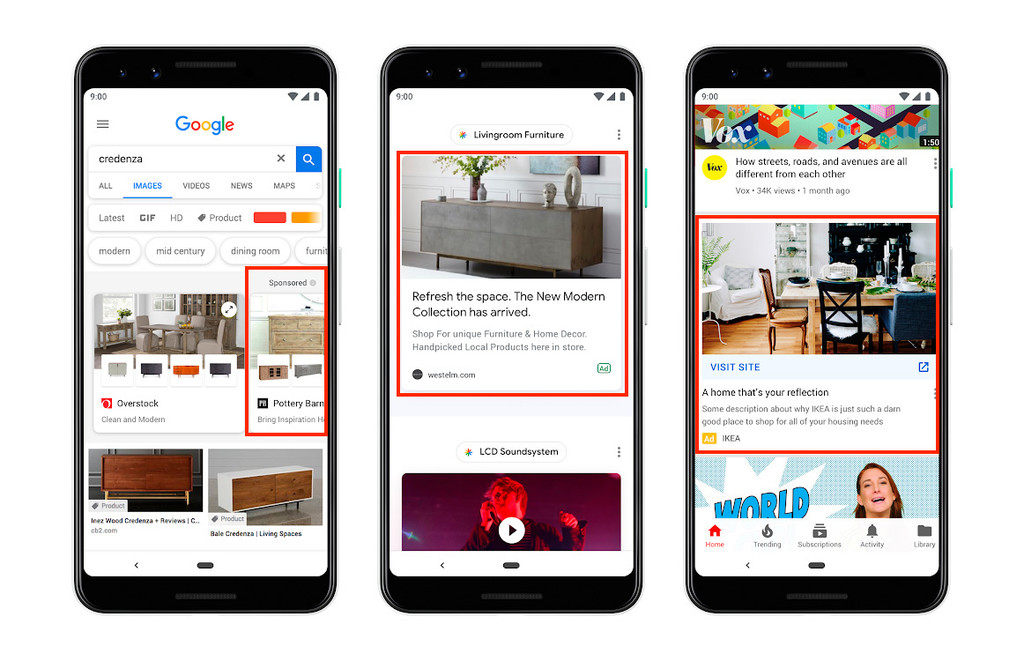Permalink to Google quiere llenar tu smartphone de publicidad: habrá nuevos anuncios en la app de Google, búsqueda, Discover y hasta YouTube