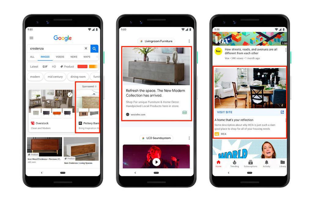 Google quiere llenar tu smartphone de publicidad: habrá nuevos anuncios en la app de Google, búsqueda, Discover y hasta YouTube