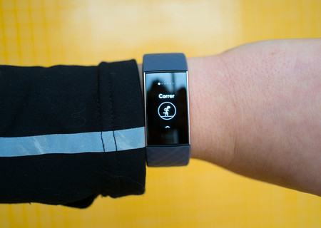 Fitbit Charge 3 Pantalla Ejercicio