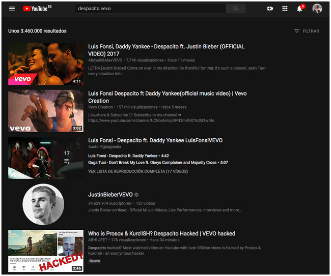 6 Despacito Vevo Youtube 2018 04 10 12 43 46