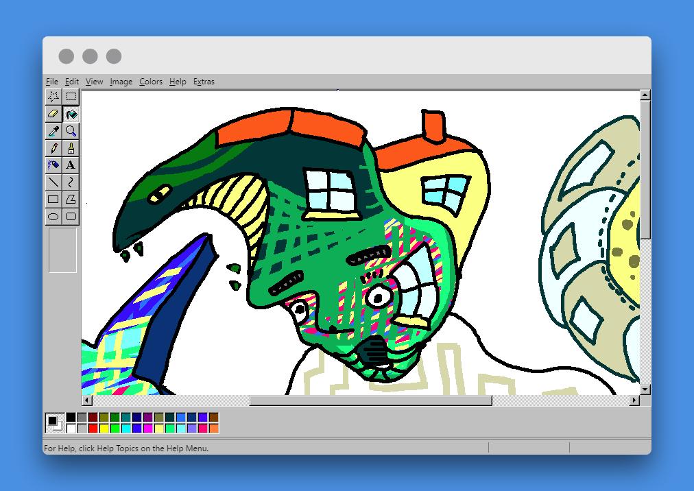 Revivir la nostalgia del viejo MS Paint ya es factible desde cualquier navegador