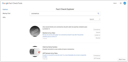 Fact Check Tools Google Chrome 2020 10 16 18 28