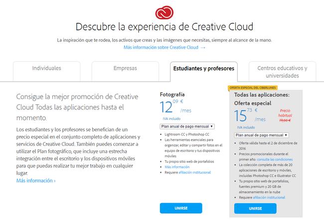 Precios Y Planes De Abono A Creative Cloud Adobe Creative Cloud
