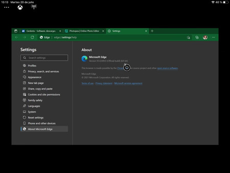 Microsoft Edge For Xbox Series X 1