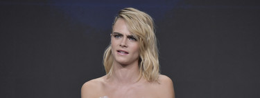Cara Delevingne returns to bet for a fake sidecut and we still love the same