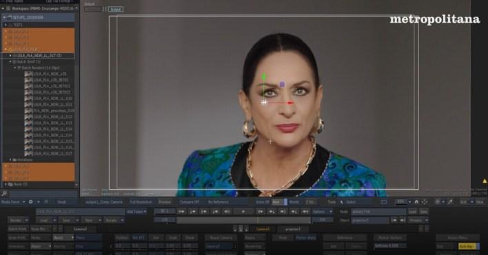 Hablan los creadores del 'deepfake' de Lola Flores: