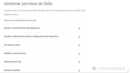 Gestionar Skills