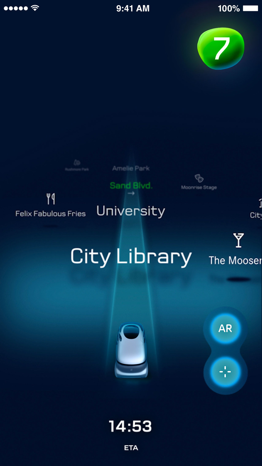 Vision Urbanetic App Movil