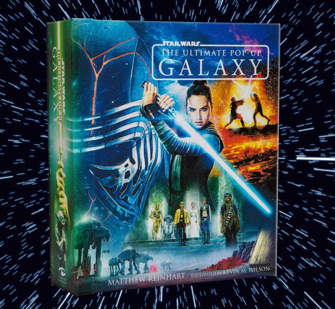 Star Wars: The Ultimate Pop-Up Galaxy (Pop Up Books for Star Wars Fans) (Inglés) Pasta dura