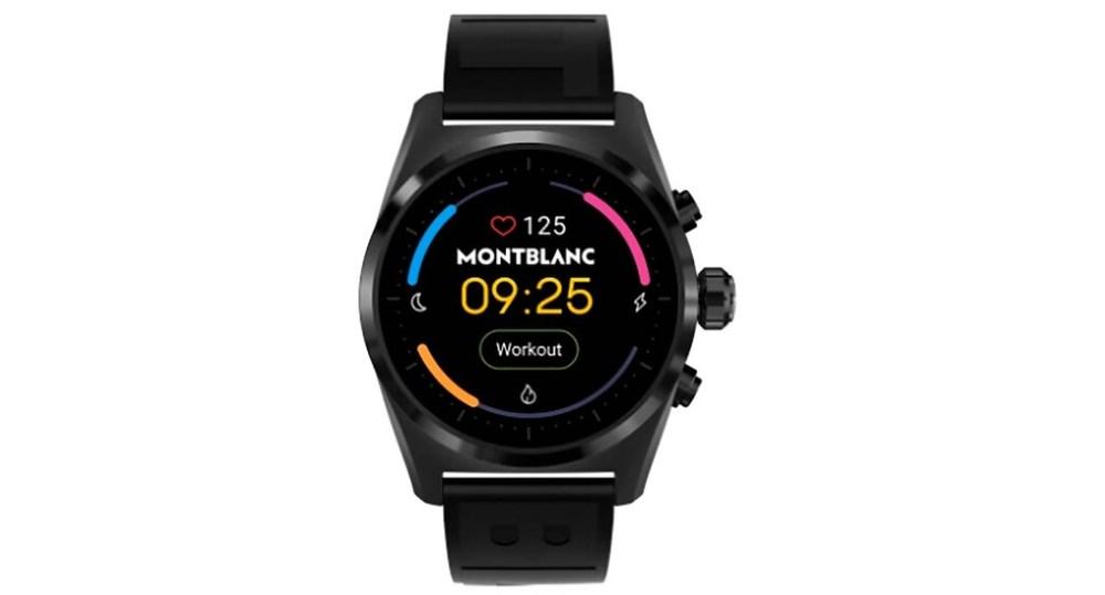 Filtrado el Montblanc Summit Lite, un futuro smartwatch de lujo que podría ser más barato