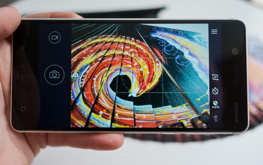 Nokia cinco Camara Interfaz