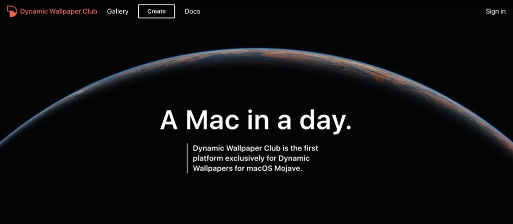 Dynamic Wallpaper Club: fondos de pantalla dinámicos en resolución 5K para macOS Mojave