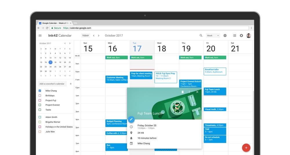 Nuevo Diseno Google Calendar