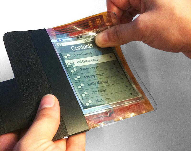 PaperPhone, Nokia® Morph y MorePhone: así eran los primeros prototipos de moviles con pantalla flexible que jamás triunfaron