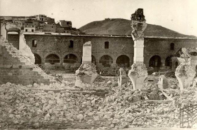 Destruction At Cartagena
