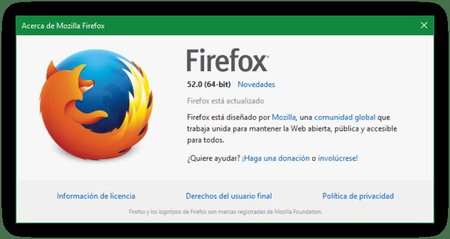 Firefox 52