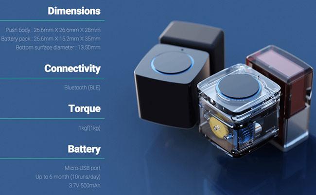 Microbot Push y sus especificaciones