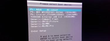 Cómo arrancar tu ordenador desde un CD o USB
