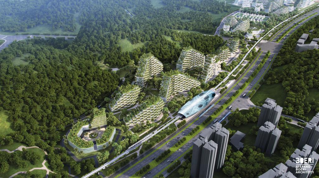 Stefano Boeri Architetti Liuzhou Forest City View 1 Copy