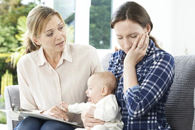 Depresión en mujeres y niños