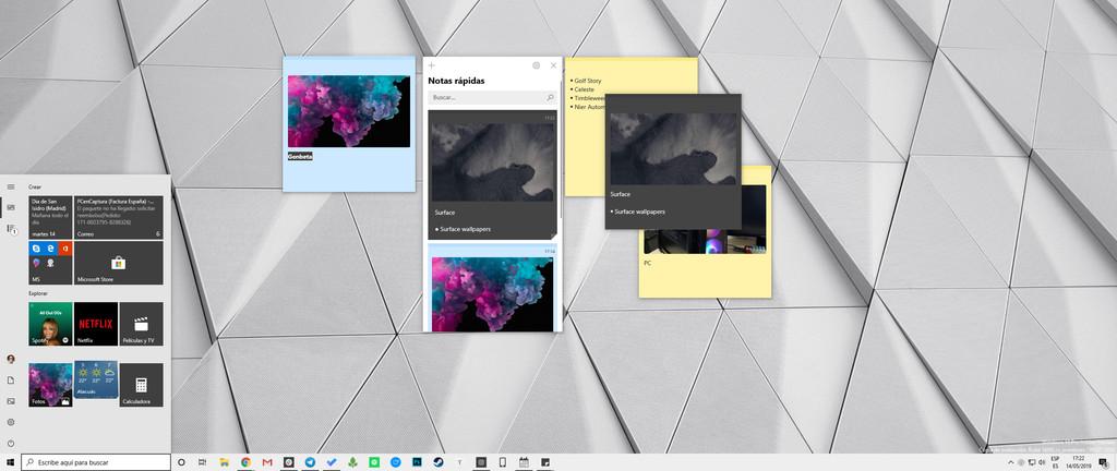 Las sticky notes de Windows 10: de mero post-it digital a completa herramienta de gestión de notas multiplataforma