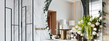 Design in the bathroom;  five trends in shower screens to get a bathroom with a lot of style
