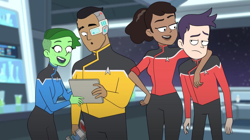 El trailer de 'Star Trek: Lower Decks' hace colisionar en el espacio profundo el estilo de 'Star Trek' y el de 'Rick y Morty'