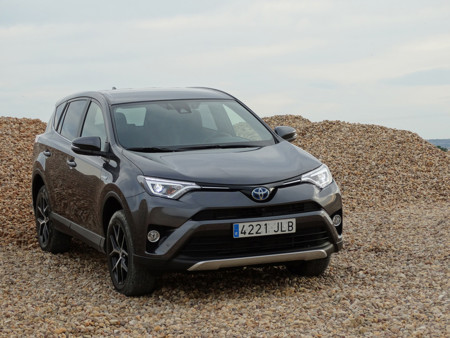 Prueba Toyota Rav4 Hybrid Exteriores