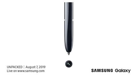 Samsung Galaxy Note10 Invitacion